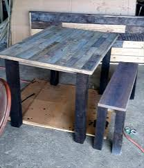 15 Unique Pallet Picnic Table 101 Pallets by 41 Best Pallet Benches Images On Pinterest Furniture Home And 4x4
