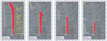 Portland Earthquake Map by Cascadia Turbidites