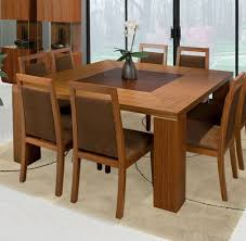 15 collection square dining table