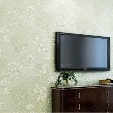 Wohnzimmer Deko Strass 10m Roller Vliestapete Tapeten Wand Papier Blumen Muster