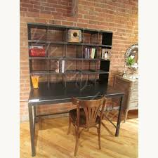 hand crafted steel desk w wire mesh cubby holes mallery hall