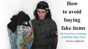 Where To Buy Maps How To Avoid Buying Fake Items The North Face X Supreme Expedition