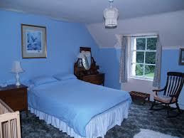 bedroom colors in blue interior design