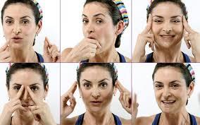 Exercícios de ginástica facial contra as rugas - Lar Natural