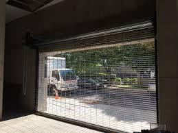 resource industries garage door motorized metal roll up shutters and rapid overhead roll up doors