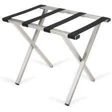 White Bedroom Luggage Rack With Shelf Luggage Racks Forbes Industries