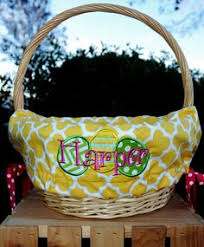 easter basket liners personalized personalized easter basket liner boys