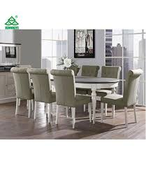 china coastlink vegas 9 piece extension oval dining table set for