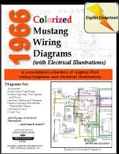 fordmanuals com 1966 colorized mustang wiring diagrams ebook