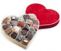 heart box of chocolates heart box 20 chocolates