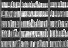 1wall giant monochrome bookshelf wall mural 1wall giant monochrome bookshelf wall mural alternative image