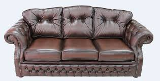 Chesterfield Sofa Brown Chesterfield Era 3 Seater Settee Traditional Chesterfield Sofa