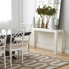 bungalow dining room bungalow 5 parsons console table white u2013 clayton gray home