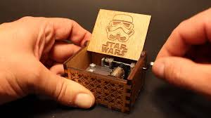 Engraved Music Box Engraved Wooden Star Wars Music Box Thurfy