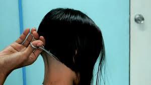 long hair cut hair buzzed off bob cut long hair cutting