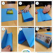 diy here s an easy way to make a card holder for ones who