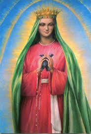 santuario ghiaie di bonate immaginette mariane la della famiglia