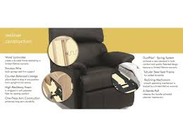 Sofa Recliner Mechanism by Flexsteel Latitudes Tobin Power Gliding Recliner With Power