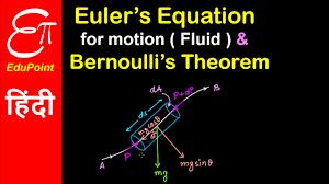 euler u0027s equation for motion and bernoulli u0027s theorem video in