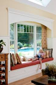 window reading nook window bench ideas family room traditional with window seat white