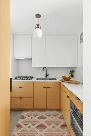 is black hardware in style photo 1 of 5 in a 44 square foot kitchen with style and