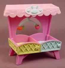 littlest pet shop double crib accessory from a nap time set 2629