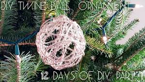 ornaments diy twine