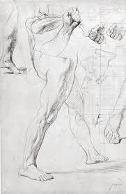 drawing basics ingres u0027 miraculous lines artistdaily
