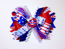Nautical Appearance Red White U0026 Blue Anchor Explosion The Hairbow Center Blog