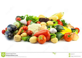 healthy eating assortment of organic vegetables royalty free