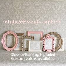 nursery photo frames vintage style shabby chic nursery wall