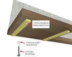 fixer un plan de travail cuisine montage plan de travail cuisine poser un plan de travail en bois
