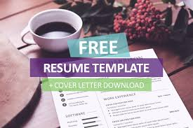 free cover letter template for resume 130 new fashion resume cv templates for free 365 web
