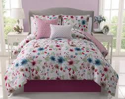 Pink Full Size Comforter Girls Kids Bedding Natalie Reversible From Home Goods Galore