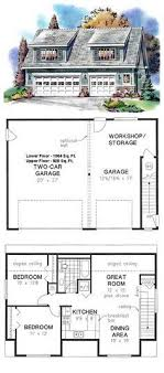 garage with apartment above floor plans garage apartment plan 58248 total living area 1812 sq ft 1