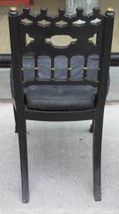 gothic style regency dining chairs set of eight for sale at 1stdibs