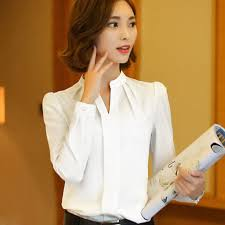 business blouses fashion office formal business wear sleeve tops