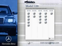 mercedes w126 series repair manual cars repair manuals
