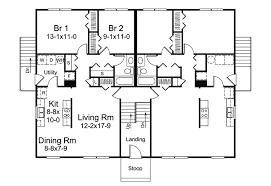 Tri Level House Plans 1970s Wayland Split Level Fourplex Plan 008d 0113 House Plans And More