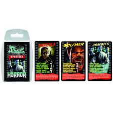 amazon com horror top trumps card game educational card games