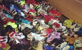 how crazy is the inside of wale u0027s sneaker closet drjays com