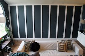 Diy Wood Panel Wall by We U0027re Doing It Chris Loves Julia