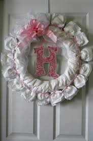 baby shower diaper wreath country u0026 victorian times