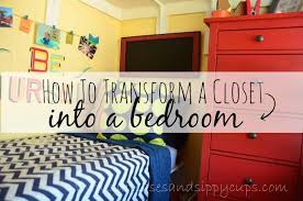 Transform Bedroom Big Family Small Space How To Turn A Closet Into A Kid U0027s Bedroom
