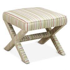 saville ivory x bench modern furniture jonathan adler