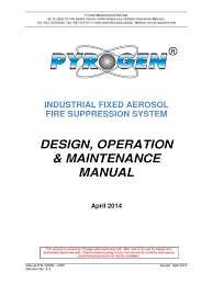 exa design manual industrial fires hydrogen