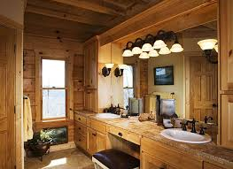 Log Cabin Bathroom Ideas Colors 165 Best Cabin Bathroom Design Ideas Images On Pinterest