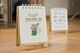 Small Easel Desk Calendar Best Desk Calendars 2017 Popsugar Career And Finance