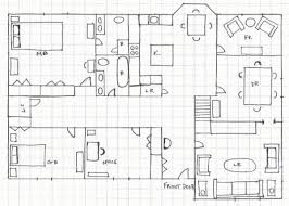 how to draw a floor plan for a house drawing house plans on graph paper modern hd