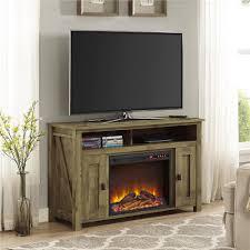 ameriwood farmington heritage light pine fire place entertainment